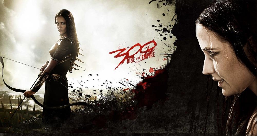 The inimitable Eva Green as the fierce warrior Artemisia.