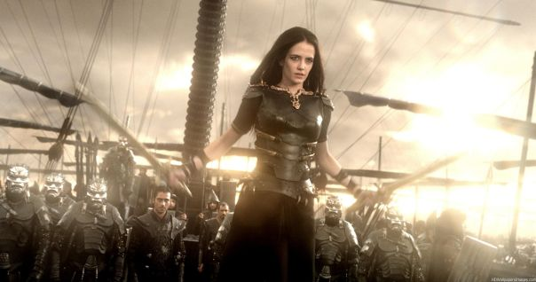 Artemisia getting ready to unleash her fury on the Greeks.